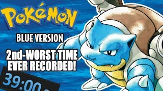 The WORST Pokemon Blue Speedrun You'll Ever See! by SkulShurtugalTCG