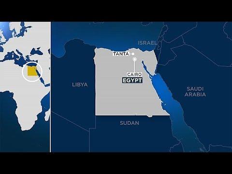 Πολύνεκρη έκρηξη σε χριστιανική εκκλησία Κοπτών στην Αίγυπτο