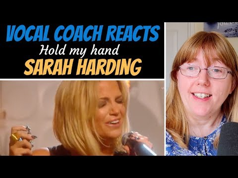Vocal Coach Reacts to Sarah Harding 'Hold my hand' (Girls Aloud)