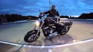 6. 2015 Harley Davidson Sportster 1200 Custom - GoPro Hero4