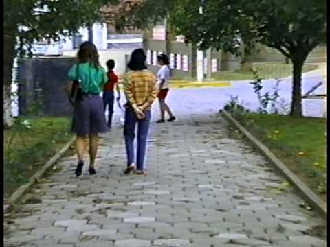 Karasinski & Família - Praça de Itaiópolis em 1988