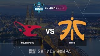 Mousesports vs Fnatic - ESL One Cologne 2017 - de_train [ceh9, Enkanis]