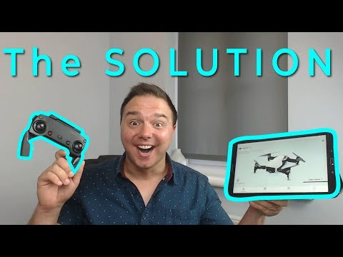 Control a DJI Drone with a Samsung/Android Tablet | Mavic Air, Spark, Pro, Mavic 2, Zoom