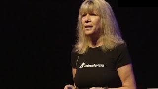 Jill Robinson speaks out against the dog meat trade