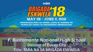 2018 Brigada Eskwela Jingle Making Contest