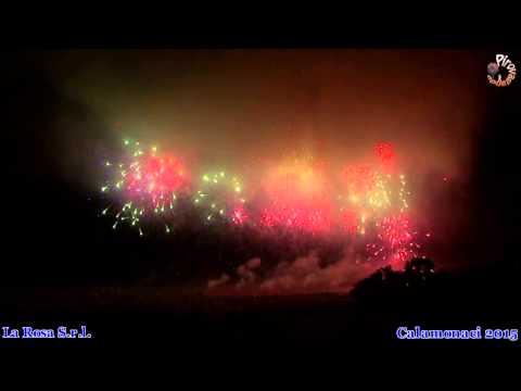 CALAMONACI (Agrigento) - LA ROSA Fireworks (2015)