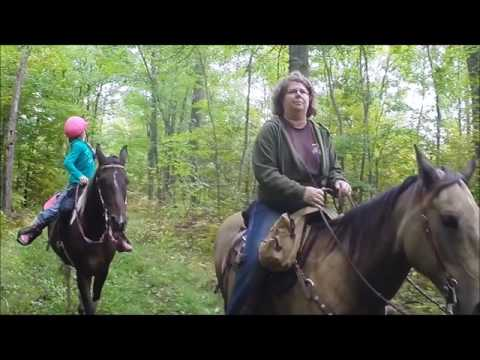 Trail Ride at Kathio State Park 9 17 2016 (видео)