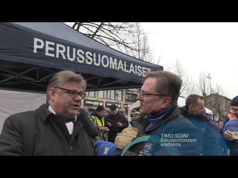 Timo Soini tekijä: Perussuomalaiset Ehdokkaat Uusimaa