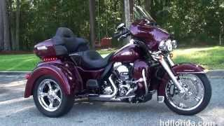 7. 2015 Harley Davidson Tri Glide Trike for sale New Colors