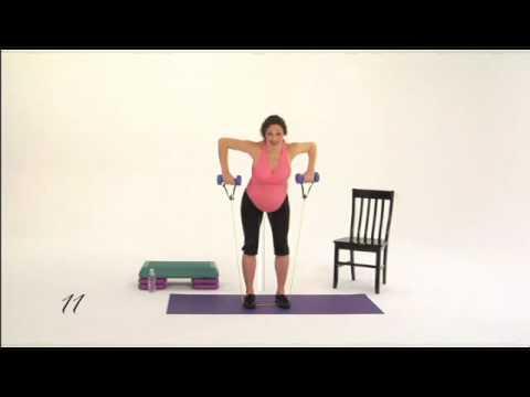 Pregnancy Exercise for PregoFIT Workouts Month 8; Clip 3