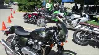 8. 2014 Triumph Thruxton 900 Test Ride