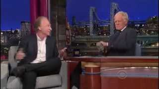 Bill Maher on David Letterman 16 July 2013