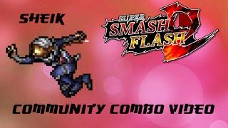 [SSF2] Sheik Community Combo Video