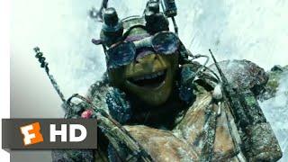 Nonton Teenage Mutant Ninja Turtles  2014    Snow Mountain Chase Scene  6 10    Movieclips Film Subtitle Indonesia Streaming Movie Download