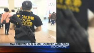 Beaumont (TX) United States  city photos : open carry beaumont texas mall, disorderly conduct
