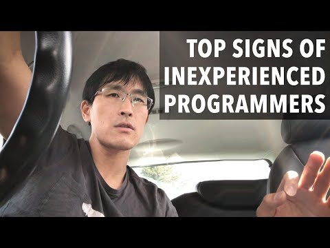 Top signs of an inexperienced programmer