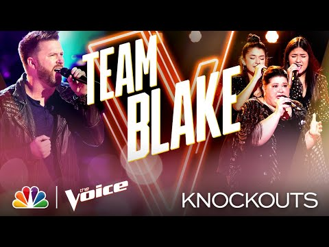 "Ben Allen and Worth the Wait Give ""Amazing"" Country Performances - The Voice Knockouts 2020"