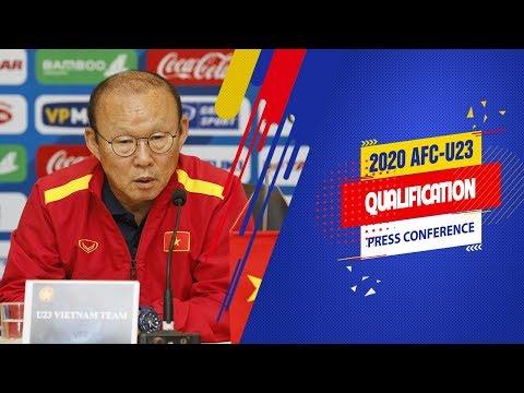 """HLV Park: """"U23 Việt Nam không có đủ thời gian chuẩn bị nhưng vẫn sẽ đặt mục tiêu cao nhất"""" - Thời lượng: 7 phút, 49 giây."""