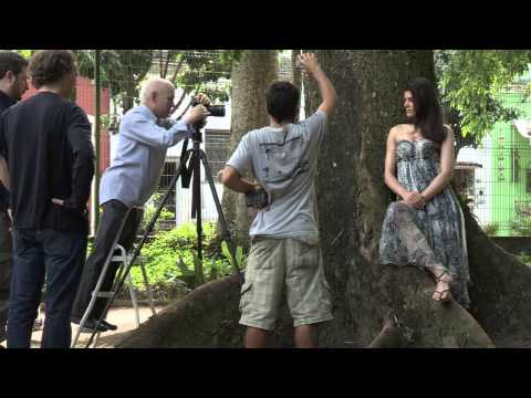 Pirelli Calendar 2013 - making off