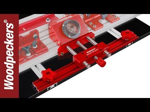 Woodpeckers Micro Adjust