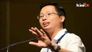 When asked to comment on Perkasa's reaction towards his speech yesterday, Gerakan Youth Chief Tan Keng Liang said he won't respond to 'parasites'.