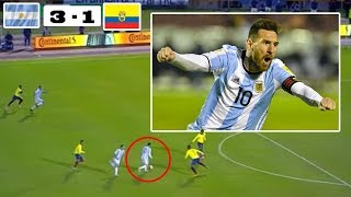 Download Video DETIK DETIK masuknya  Timnas ARGENTINA ke Piala Dunia di Rusia 2018 - MESSIII NGAMKKKK MP3 3GP MP4