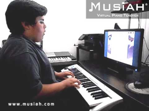 Piano Video: Online Piano Lesson #125 We Are The Ones played by Michael