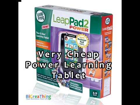 Very cheap LeapFrog LeapPad2 Power Learning Tablet