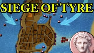 Episode covers the siege of formidable city of Tyre, most important city-state of Phoenicia was the last Persian stronghold still under their control. Unlike other Phoenician cities, Tyrians decided to challenge the young Macedonian king and prepared for a long and bitter siege.Support BazBattles on Patreon!: https://www.patreon.com/bazbattlesMusic used:BTS Prolog - Kevin MacLeodImpact Allegretto - Kevin MacLeodA Dream Within a Dream - Twin MusicomAll This Scoring Action - Kevin MacLeodImpact Andante - Kevin MacLeodThanks to my generous Patreon supporters: Daisho, Prince of Parthia, Admiralwaffles.