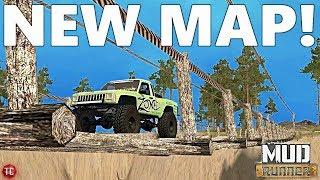 SpinTires MudRunner: NEW MAP! Valley Falls