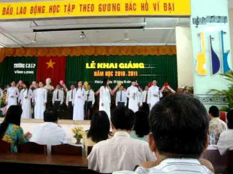 bài ca sinh viên.lớp Nhạc34 CDSP Vĩnh Long