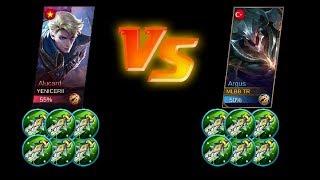 Video Argus full damage vs Alucard full damage max attack | Mobile Legends MP3, 3GP, MP4, WEBM, AVI, FLV Oktober 2017