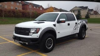 2011 White Ford F-150 SVT Raptor SuperCrew Newmarket Ontario | MacIver Dodge Jeep