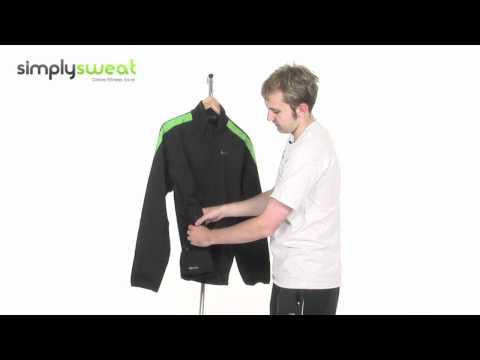 Nike Mens Assassin Training Jacket Black & Green- www.simplysweat.com