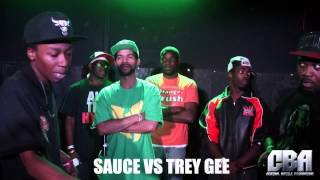 Central Battle Association | Sauce vs. Trey Gee