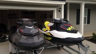 10. [UNAVAILABLE] Used 2014 Sea-Doo (2) GTI 155 Limited / Wake 155 in North Charleston, South Carolina
