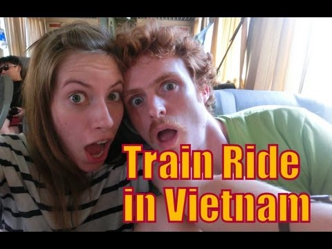Train Journey Trip from Saigon to Nha Trang, Vietnam