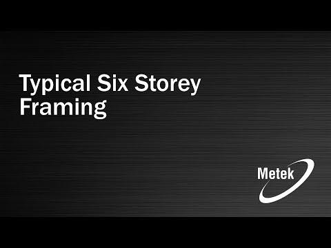 6 Storey Metek framing
