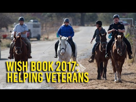 Wish Book 2017: Farm helps veterans with horses