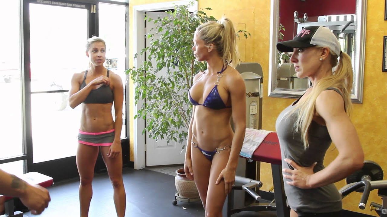 Bikini 101 with the MISSFITS & IFBB Pro Taylor Matheny, Heather Clay, Loni Christine