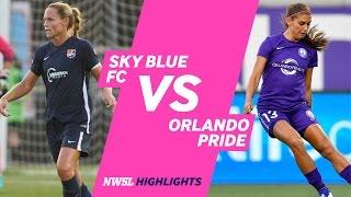 Orlando Pride Empata 1 a 1 de Visitante en Nueva JerseyFrente a Sky Blue FC