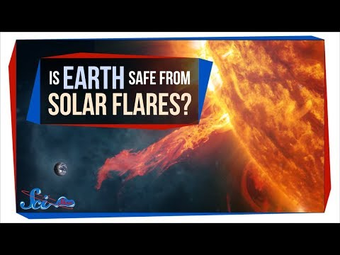 What if Earth Was Hit by a Giant Solar Flare?_Best sun videos ever