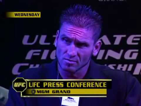 Funny Ken Shamrock Tito Ortiz press conference