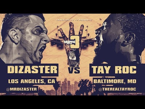 SMAK/URL Rap Battle: Dizaster vs. Tay Roc