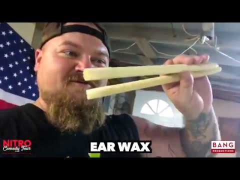EAR WAX! COMEDIAN CATFISH COOLEY LOL FUNNY LAUGH