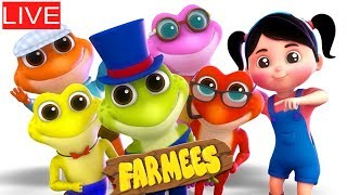 Video 🔴 Kids Rhymes And Videos For Children by Farmees MP3, 3GP, MP4, WEBM, AVI, FLV Juli 2018