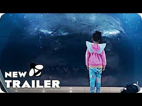 The Meg Trailer (2018) Jason Statham Monster Shark Movie