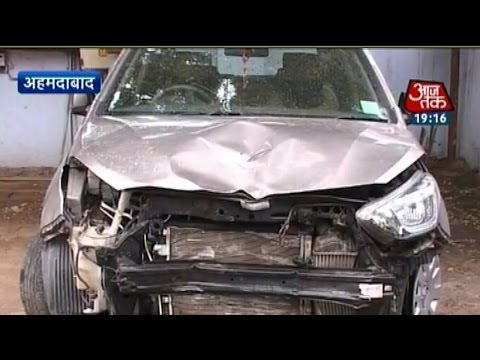 Ahmedabad: Minor mounts car on a pavement  kills two 24 July 2014 11 AM