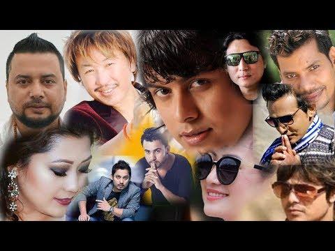 (स्टेज तताउन ब्यस्त गायक गायिकाहरु Sugam,Kamal,Pramod,Himal,...7 min, 20 sec.)