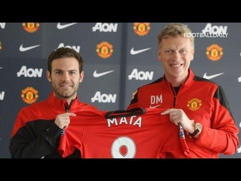Juan Mata Unveiled